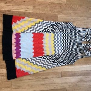 Missoni orange label summer dress